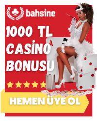 Poker Bahsine 1000 TL Bonus